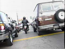 motorcycle lane splitting - visalia motorcycle accident lawyers