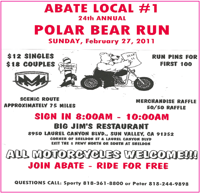 ABATE Polar Bear Run