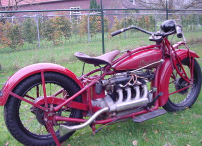 "Indian Motorcycle - Indian ""Four"""