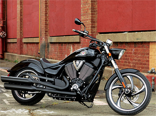 Polaris Motorcycle Victory 8-ball
