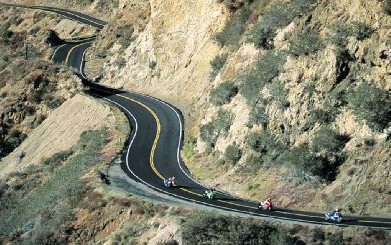 Angeles Crest Highway - Los Angeles Motorcycle Accident Lawyer
