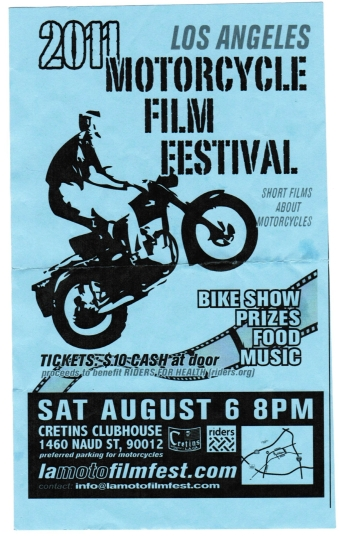 Los Angeles Motorcycle Film Festival - Motorcycle Accident Lawyer in Los Angeles