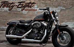 Harley-Davidson Sportster Forty-Eight - Los Angeles Motorcycle Accident Lawyer