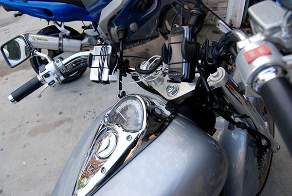 Honda VTX1300s Handlebar Mounts