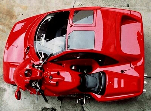 Sports Car Sidecar