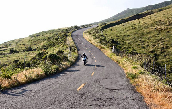 Northern California Motorcycle Rides - Lost Coast - Mattolle Rd
