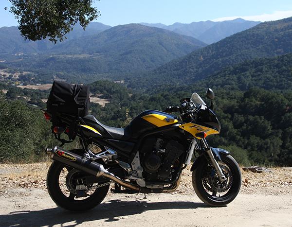 RevPack Tail Bag Installed on Sportbike