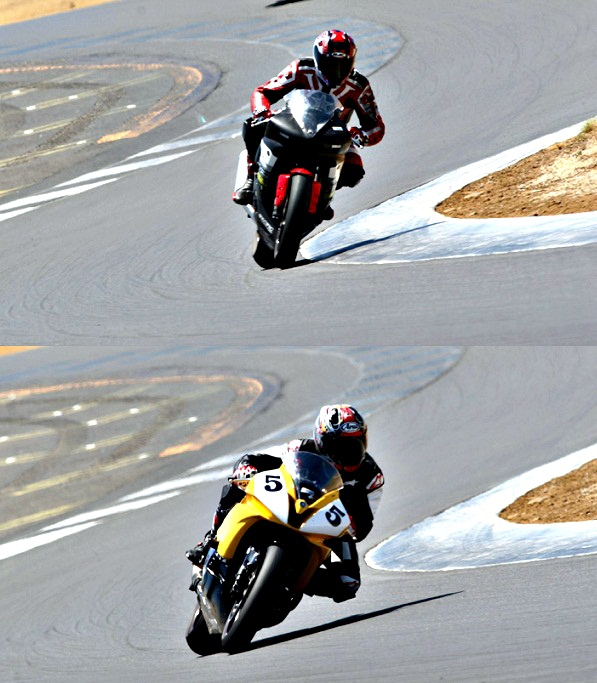 Track Riding and Racing Tips - Lines, Lean Angle and the Apex