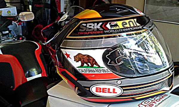 Bell Star Carbon FIM World Superbike Laguna Seca Helmet