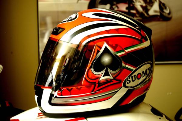 Suomy Apex Fabrizio Motorcycle Helmet