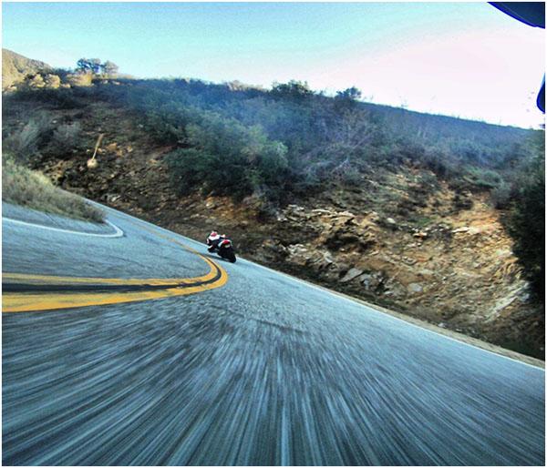 POV Riding of Glendora Mountain Road