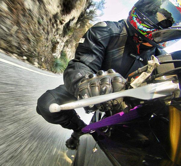 GoPro Motorcycle POV Action Shot