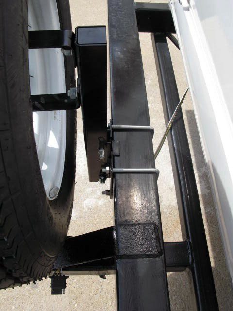 rv square spare tire motorcycle carrier