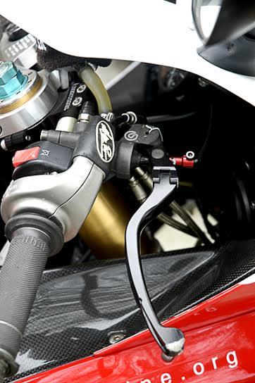 Track riding braking techniques