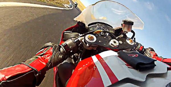 Motorcycle throttle stabilization