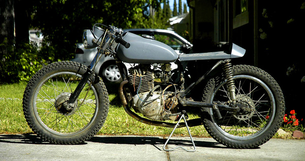 1972 Honda CT175 Cafe Racer Project