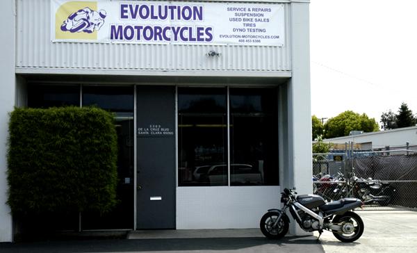 Evolution Motorcycle Shop Bay Area