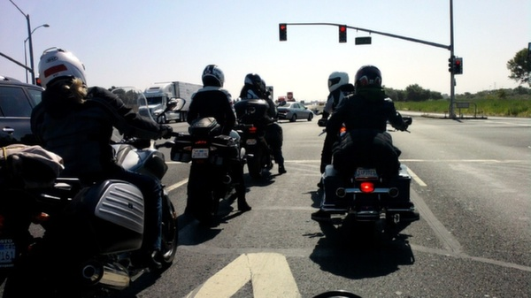San Francisco Bay Are Motorcycle Rally
