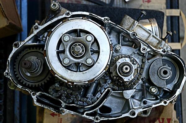 Honda xl250 engine teardown