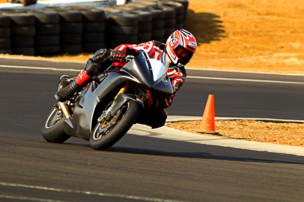 Thunderhill West motorcycle