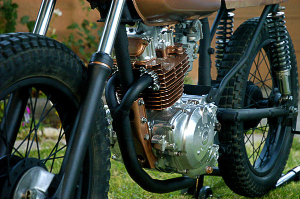 Cafe racer art project