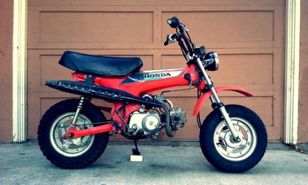 Honda CT70 pit bike