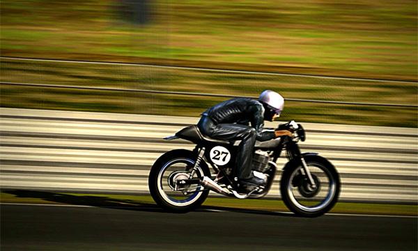 Leftover Honda CB400 cafe racer