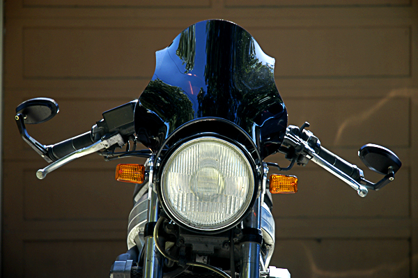 Universal motorcycle windscreen review