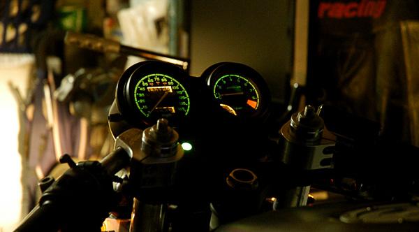 Honda Nighthawk GT gauge cluster light