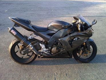 Stolen 2005 Ninja ZX10