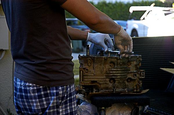 XL250 Engine Teardown