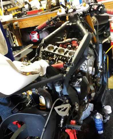 Joy motorcycle maintenance