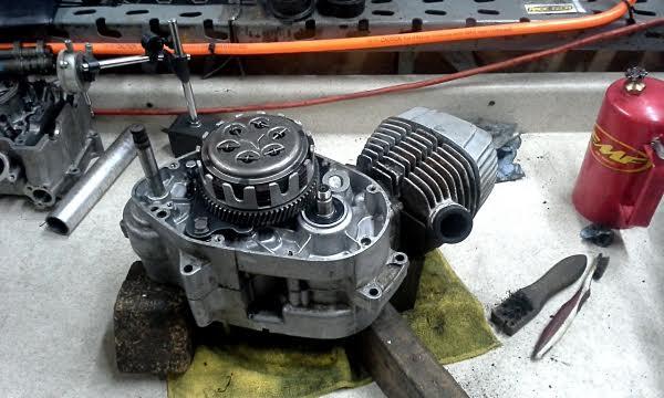 15 engine rebuild clutch