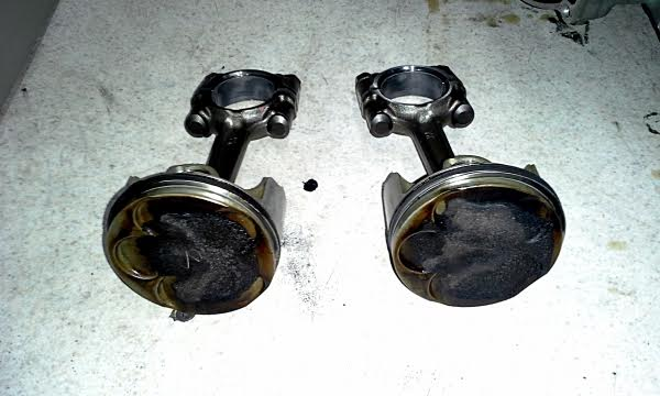 Yamaha r1 engine rebuild pistons