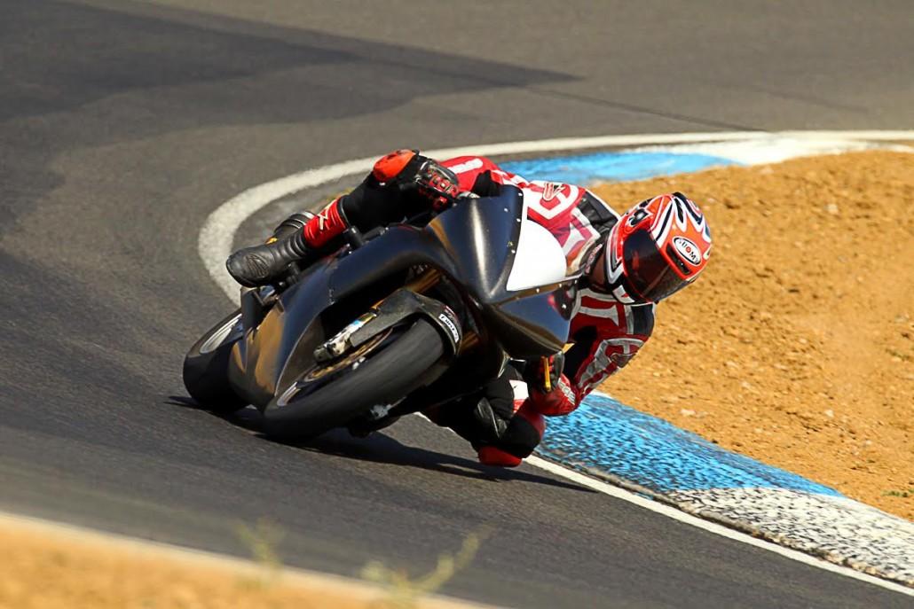 Thunderhill Raceway motorcycle rider