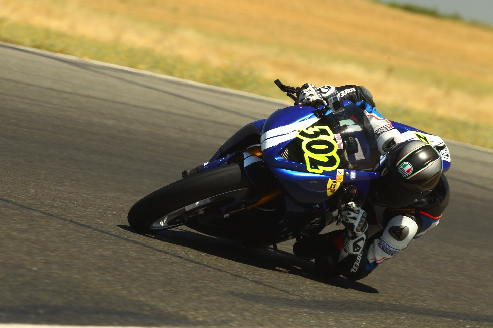Caption: On my way to that 1:57 in Turn 2 at Thunderhill. Photo by gotbluemilk.com
