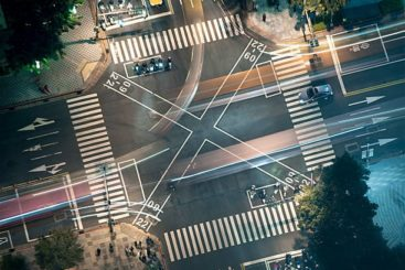 large complicated intersections can often be deadly to motorcyclists