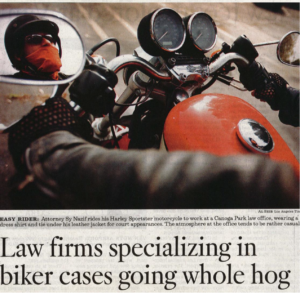 Motorcycle Attorney Sy Nazif