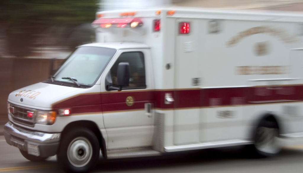 picture of an ambulance to emphasize the need to consult an attorney if you went to the hospital after your accident