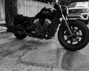 Modern Indian Scout show angle