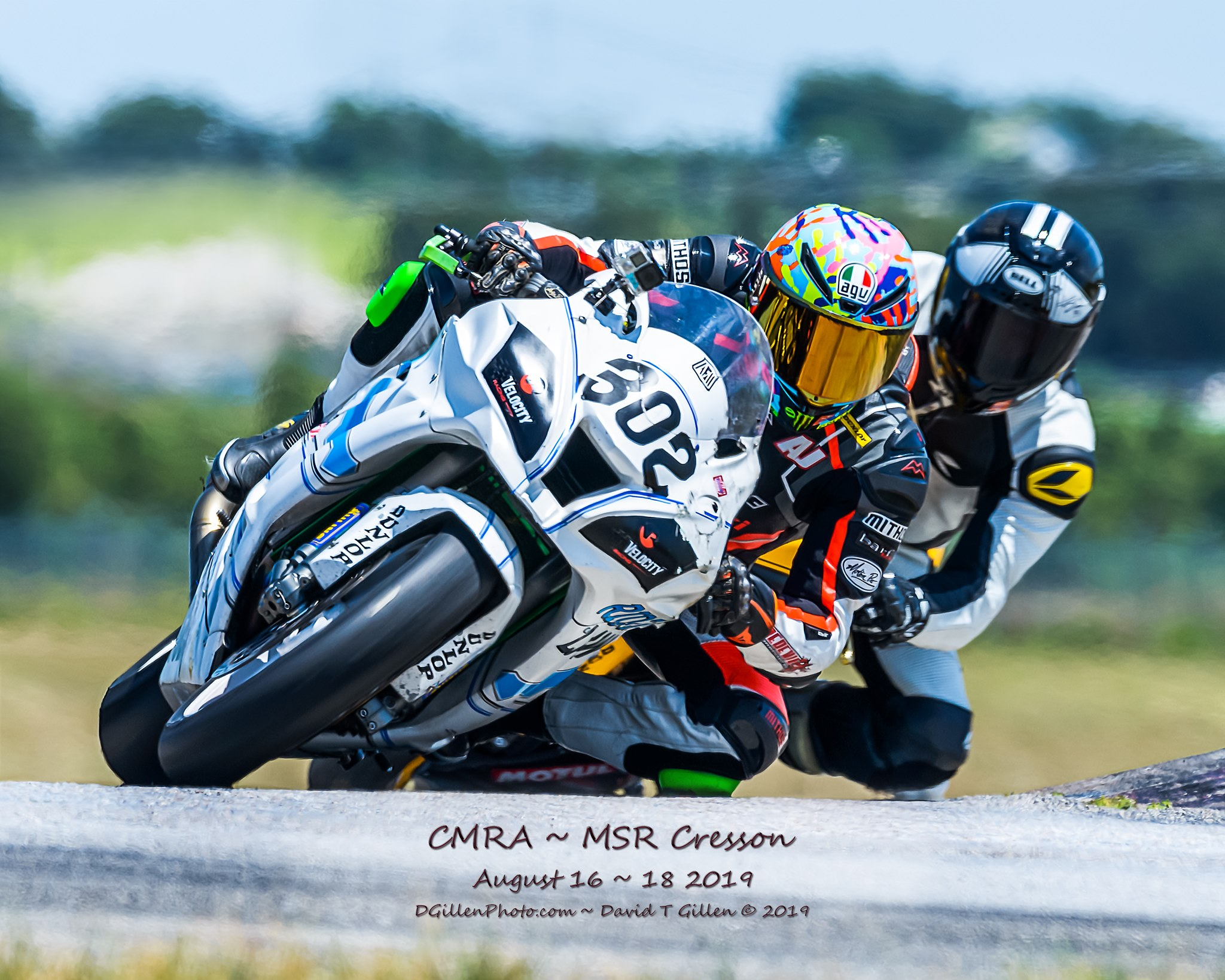 RiderzLaw Racer AJ Jacobsen racing at Chuckwalla Raceway in California