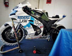 RiderzLaw Racer AJ's Kawasaki ZX10