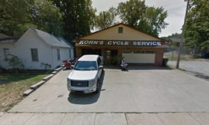 A Picture of Korn's Motorcycle accident repair shop in St. Louis Missouri